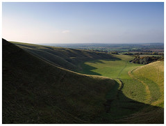 White Horse Hill, Uffington, Oxfordshire.