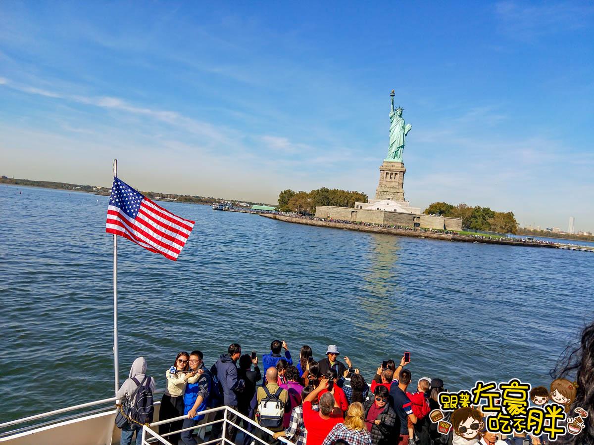 美國紐約遊船觀賞自由女神像3