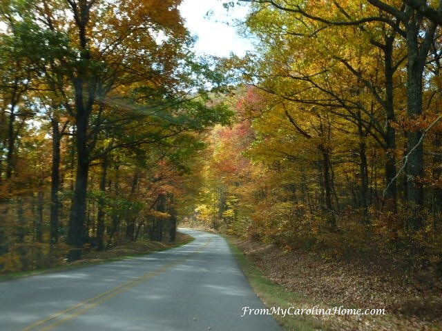 Blue Ridge Parkway Autumn 2017 at From My Carolina Home