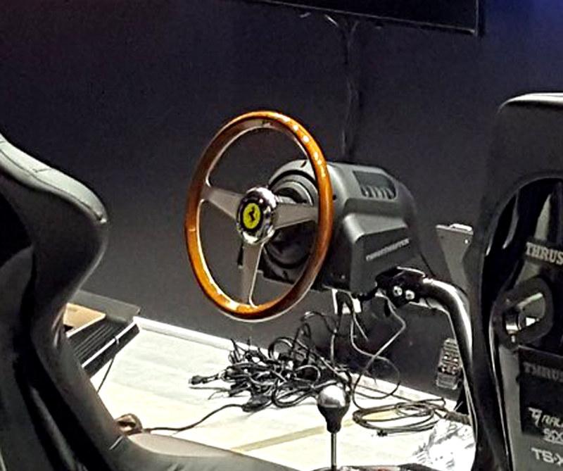 ThrustmasterFerrari 250 GTO vintage wheel addon