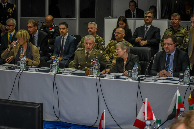North Atlantic Council visit to Kosovo (27 Oct 17)