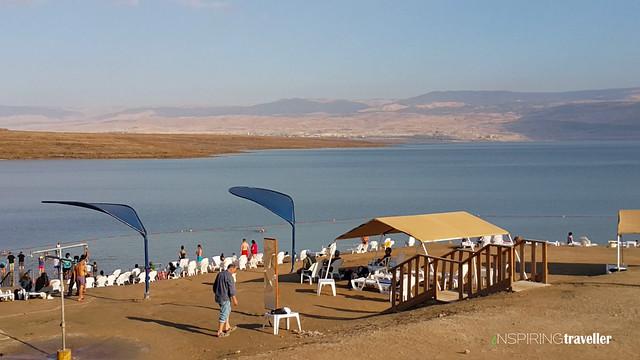 Kalia Beach, Laut Mati disisi Israel