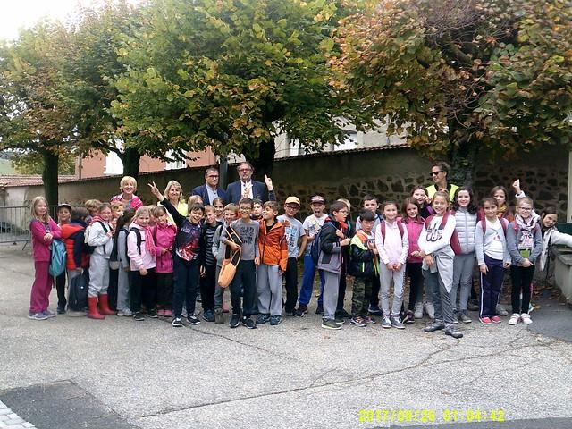 2 randonnées pour petits et grands organisées à l'école Jules Vernes d'Aveizieux