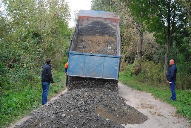 Ремонт доріг в тульчинській ОТГ
