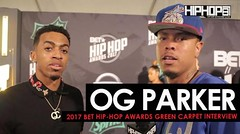 """OG Parker Talks Working with Migos & Gucci Mane, Producing Chris Brown's new record """"Pills & Automobiles"""", & His Upcoming Project on the 2017 BET Hip-Hop Awards Green Carpet (Video)"""