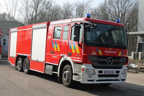 Tankwagen 512 Brandweer Turnhout