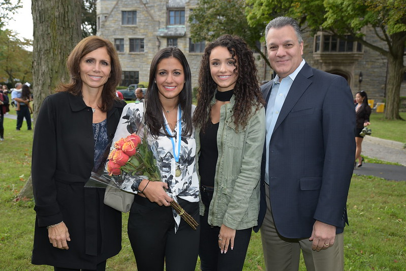 Family weekend and Honors Convocation