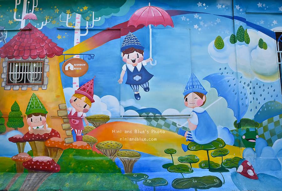 彰化和美景點卡里善之樹雨傘16