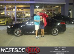 #HappyBirthday to Brian & Jane from Wilfredo Suliveras at Westside Kia!
