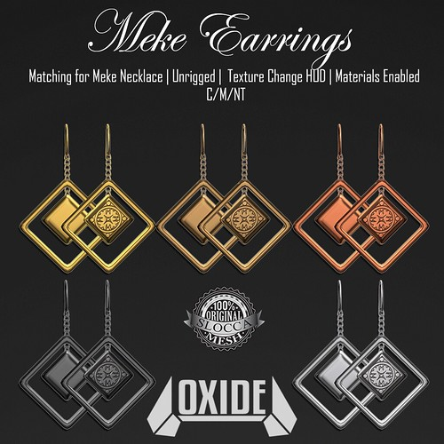 OXIDE Meke Earrings - Hunt!