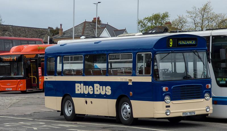 Plymouth Citybus  FDV787V