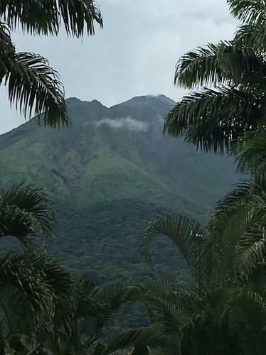 Arenal Volcano from La Fortuna. Costa Rica's Motto, Pura Vida, Comes Through in Its Humble Dish, Gallo Pinto