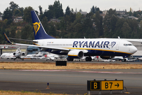 Boeing 737-8AS(WL) Ryanair EI-GDB LN6601
