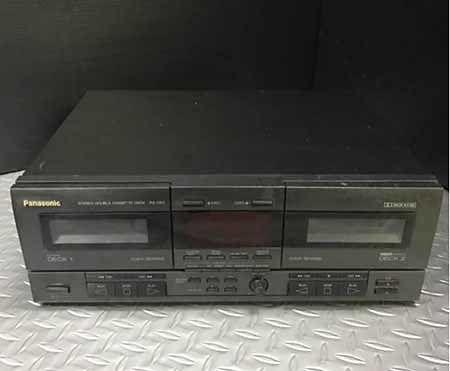 Panasonic SU-Dseries AutoReverse DOUBLE CASSETTE DECK RS-D50