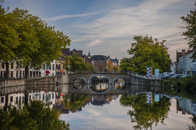Brugge city center