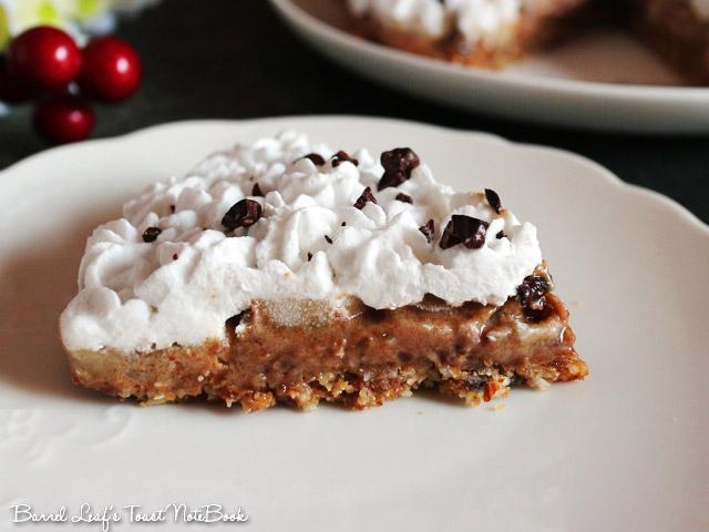 全素香蕉太妃派 Vegan Banoffee Pie (12)