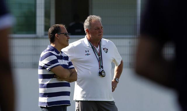 Treino do Fluminense - 03/11/2016