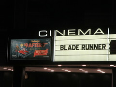 Blade Runner 2049 Theater Marquee 2017 NYC 2334
