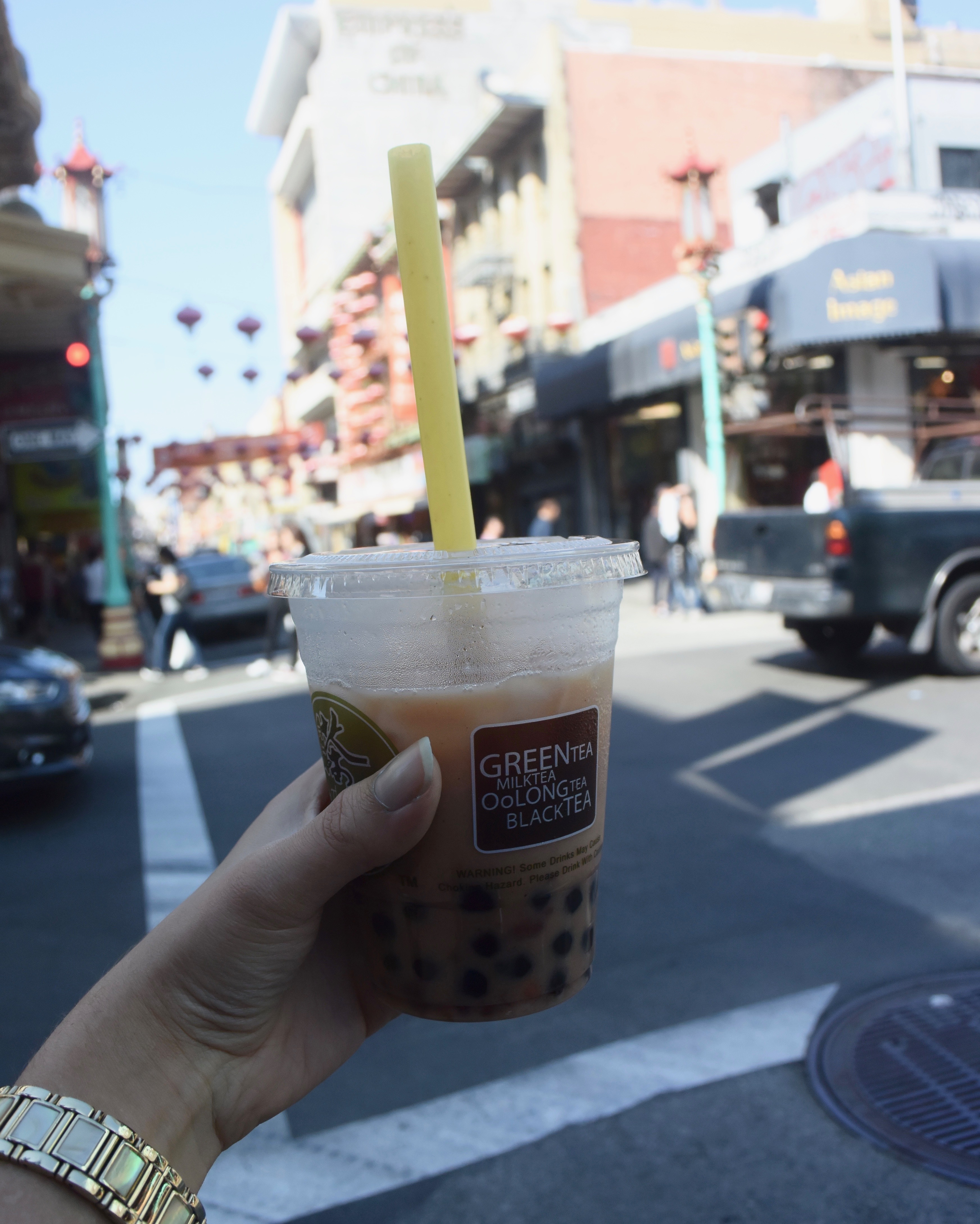 san francisco food - bubble tea