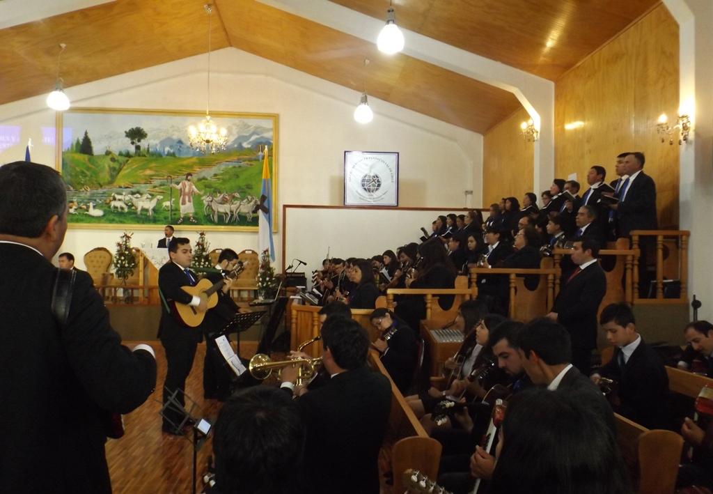 Desfile de fiestas patrias en IMPCH Trehuaco