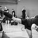 20171004_F0001: Kickboxing kick in action
