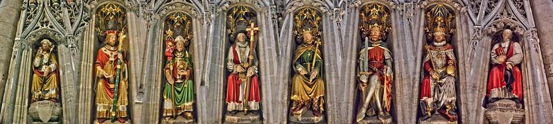 Wall of Kings & Bishops, Ripon Cathedral, UK 19102017, JCW1967