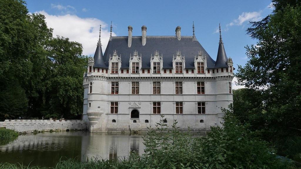 chateau azay le rideau centro valle de loira francia tripcarta. Black Bedroom Furniture Sets. Home Design Ideas
