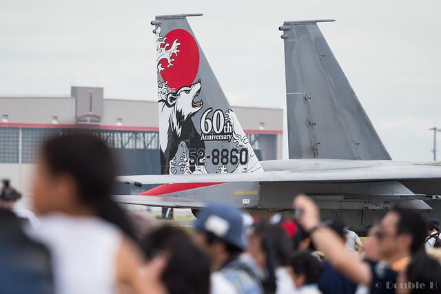 JASDF Chitose AB Airshow 2017 (104) 201SQ F-15J #860
