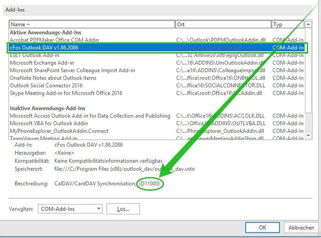 cFos Outlook DAV mit 30 stelliger Seriennummer registrieren 37605144952_7c20de9e95_z