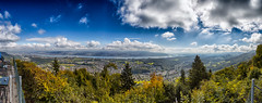 Zurich Panorama from Felsenegg, Switzerland / SML.20150924.6D.34460-34474.Pano.E