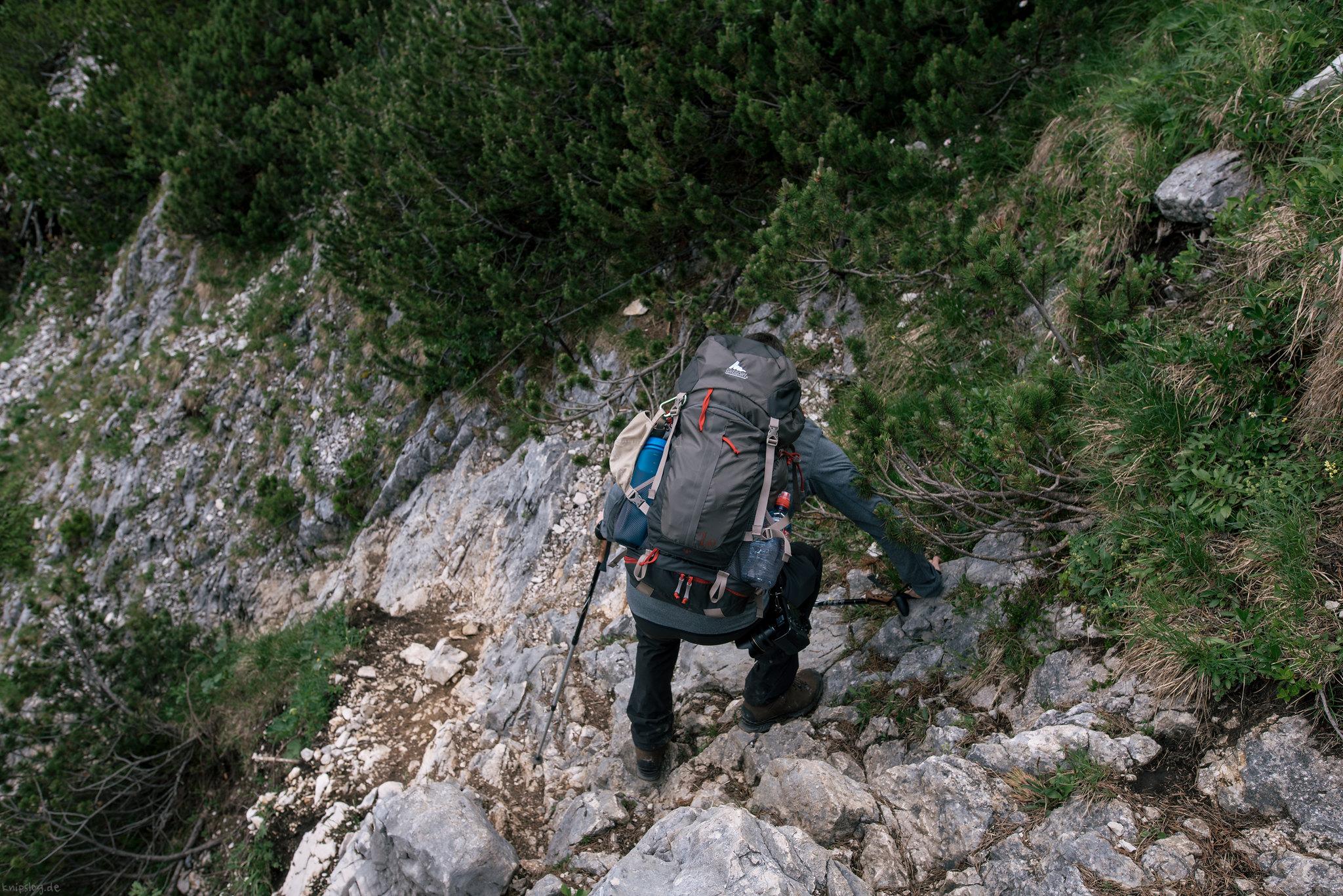 Steep gradient climb