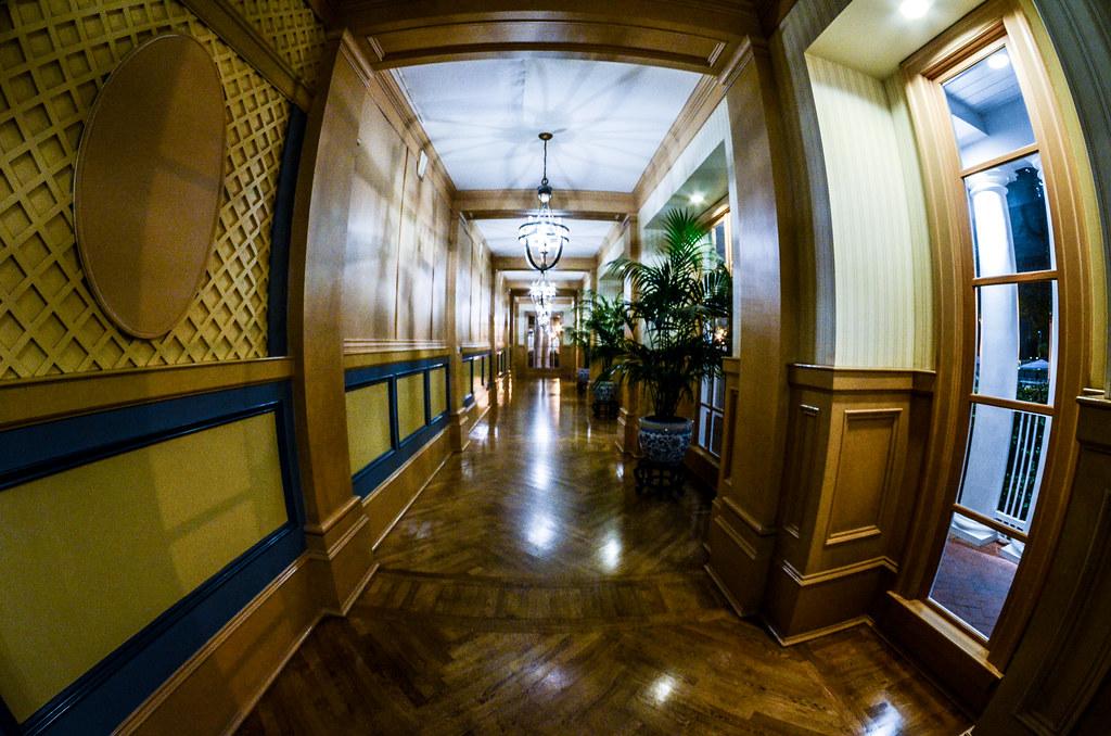 Yacht Club hall