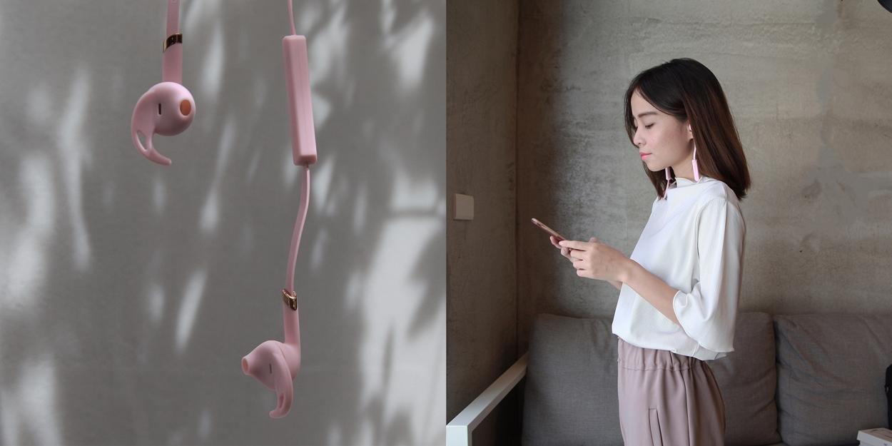 生活風格 | 瑞典Sudio TRE 藍芽運動耳機 • 粉色十月 乳癌防治公益企劃 (開箱文末折扣碼)