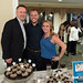 "State Auditor Rob Kane, State Representative Joe Polletta and Lindsay Verardo during the Champagne and ""Celebrity"" Cupcakes Auction held at the Country Club of Waterbury."
