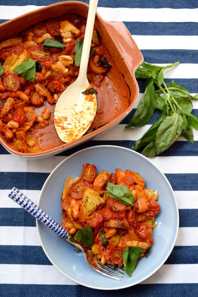 Vegan Tomato and Coconut Cassoulet | www.rachelphipps.com @rachelphipps