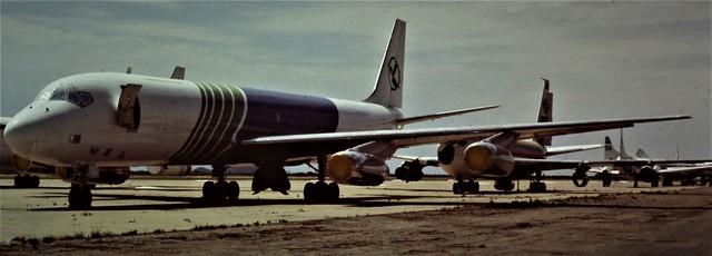 DOUGLAS DC8 MOJAVE 1970,S