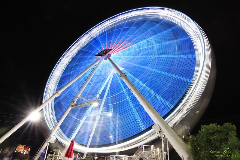 Kaleidoscope Ferris wheel