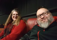 12/25/16 - Movie theater viewing w/ best friend Amy
