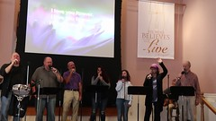 Song & Testimony Service (10-22-2017) & Fellowship Luncheon - 58