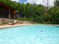 Resort Pool at the Great Smoky Mountains
