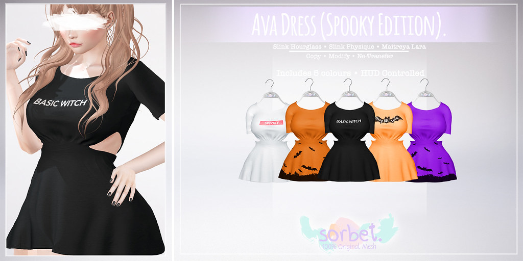 Sorbet. Ava Dress (Spooky Edition)