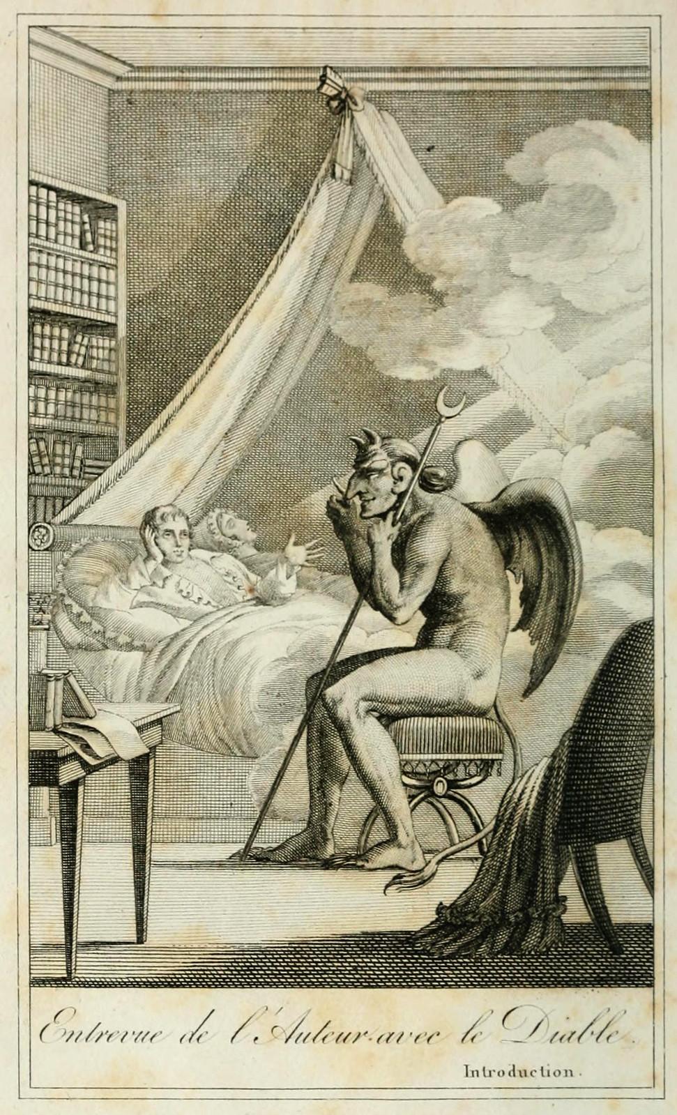 Collin de plancy y el diablo
