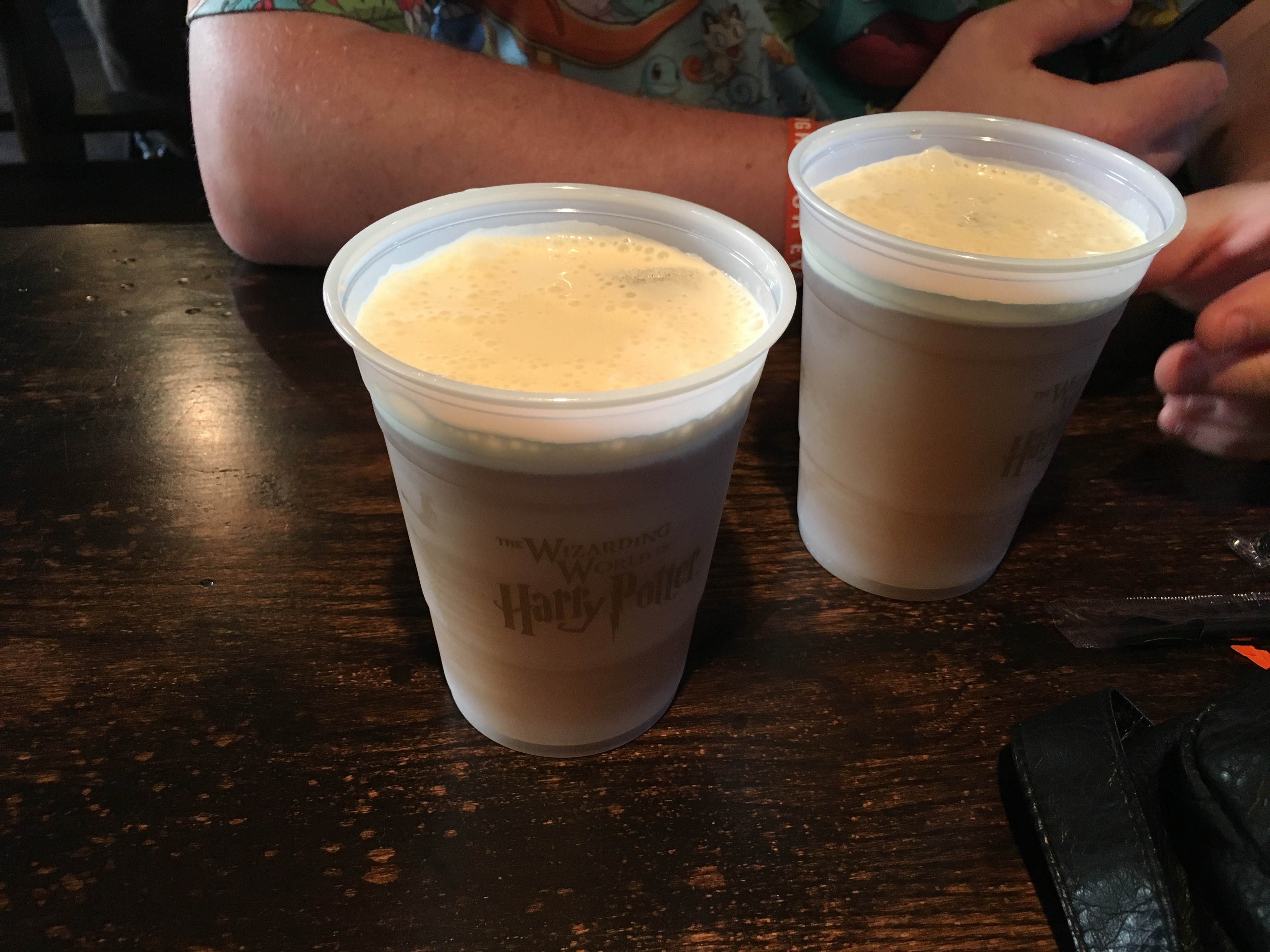Universal Studios Hollywood - butterbeer
