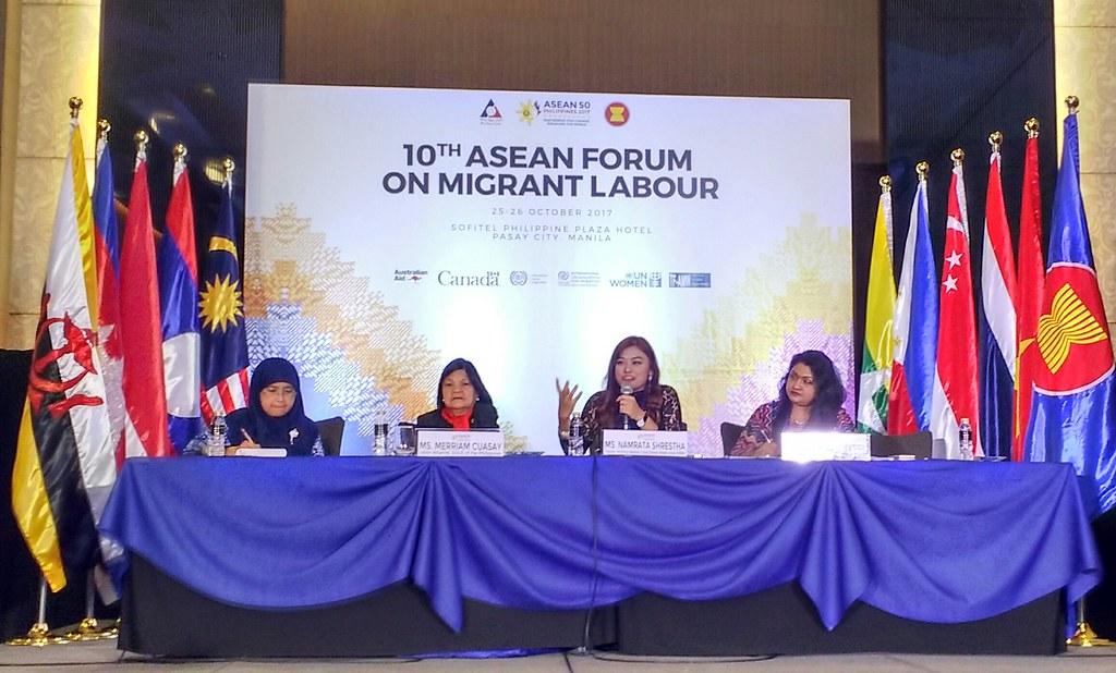 2017-10-25~26 Asia: 10th ASEAN Forum on Migrant Labour