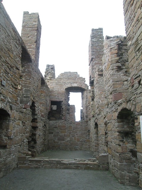 Earl's Palace  at Birsay, Orkney