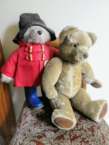 Paddington Bear and Teddy - my own