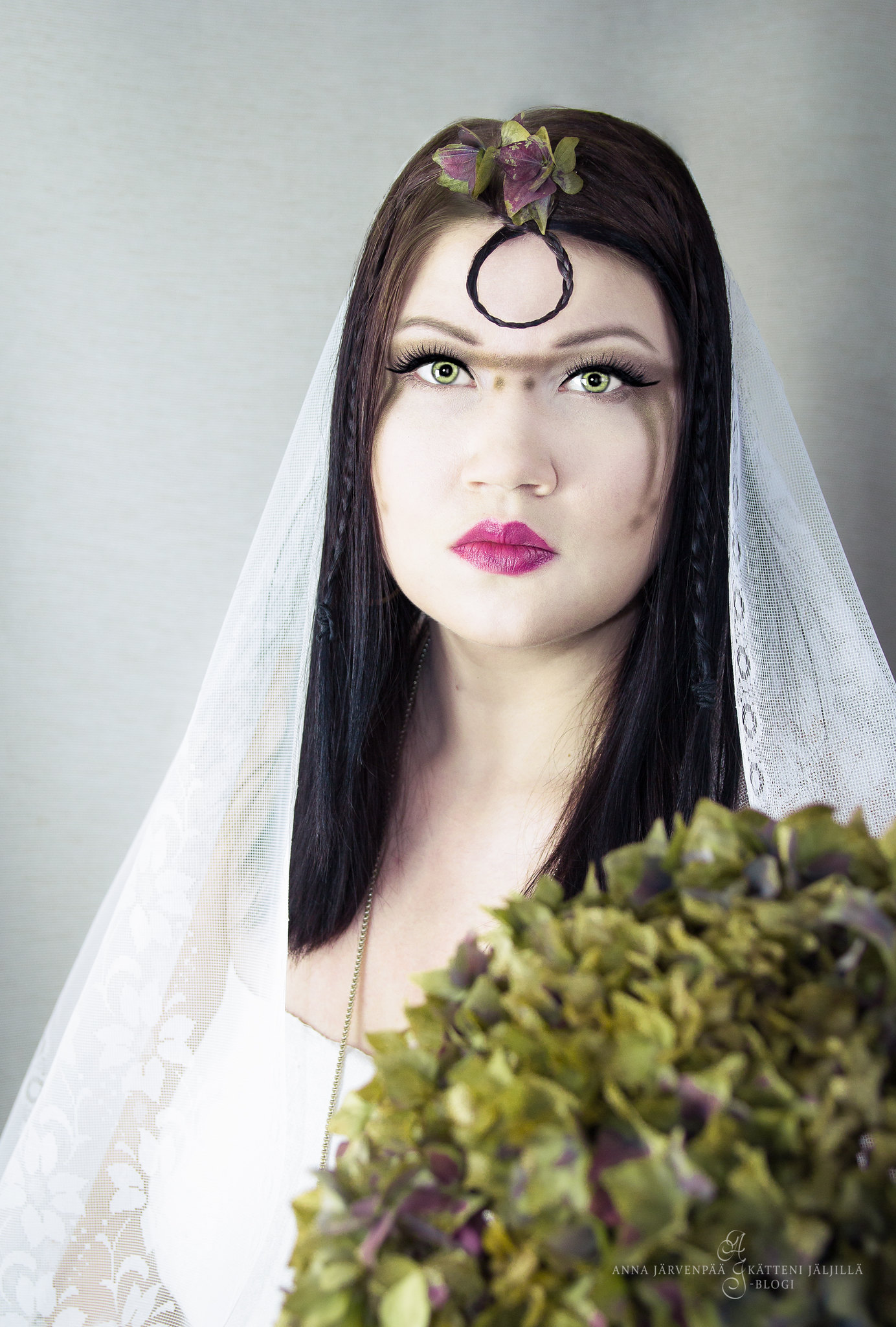 Fairytale wedding / self-portrait