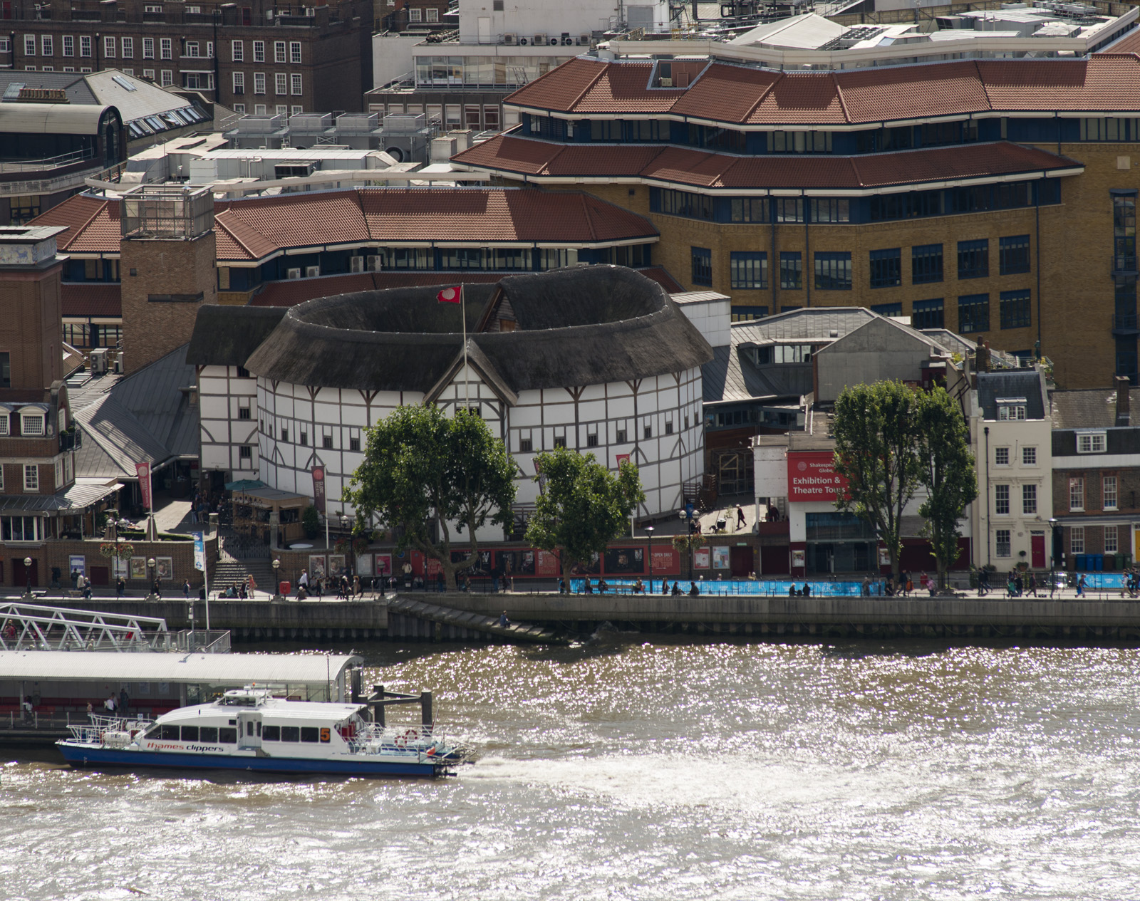 Modern reconstruction of the Globe Theatre, named