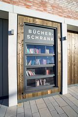 Öffentlicher Bücherschrank Bahnstadt Heidelberg 02