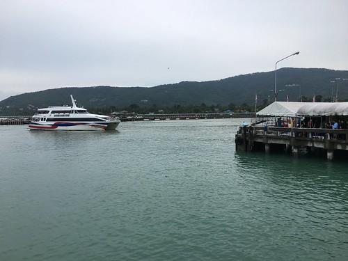 今日のサムイ島 11月3日 予報より軽い悪天候